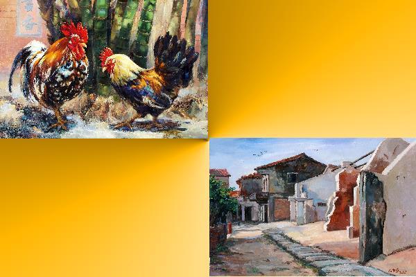 世紀揚藝—中華民國跨世紀油畫研究會22週年大展